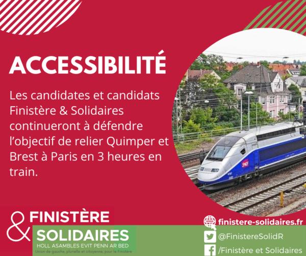 #3 - Accessibilité - BrestParis3H